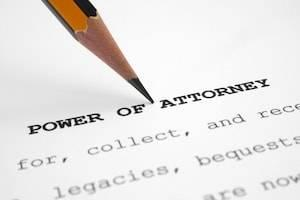 Orland Park power of attorney for healthcare and finances lawyer